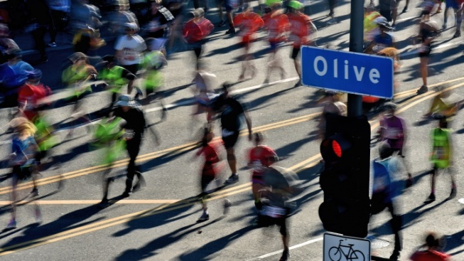 LA Marathon's Big Numbers, from Bagels to Band-Aids
