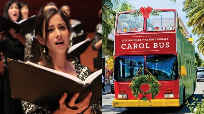New Caroling Bus on Its Way to LA