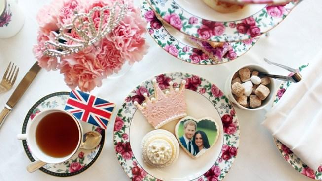 It's a Royal Wedding Tea, at The Langham Huntington, Pasadena