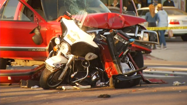 Traffic Crashes Leading Cause of Police Deaths in 2013