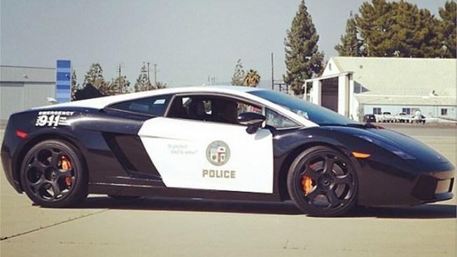 LAPD Gets a Lamborghini Gallardo