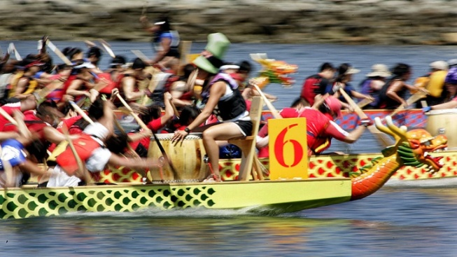 Art and Sport Meet at the Free LBC Dragon Boat Fest