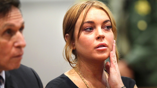 Lindsay Lohan Appears In LA Court