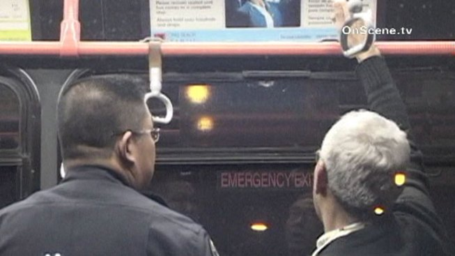 Police Hunt for Long Beach Bus Shooter