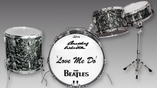 'Love Me Do' Drum Kit Up for Auction