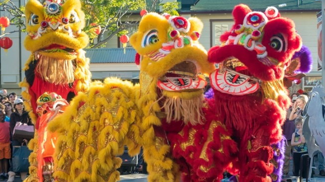 Join a Free Lunar New Year Party at The Original Farmers Market