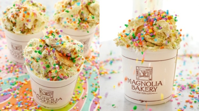 Magnolia Bakery's Fun (and Fundraising) Pride Pudding