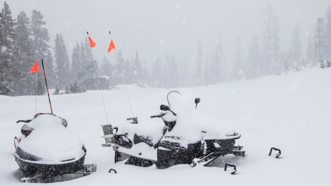 Sierra Snowfall: It's a Doozy