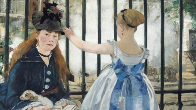 """Manet's """"The Railway"""": Famous Painting to Visit SoCal"""