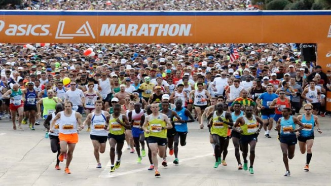 Ethiopian Runners Win Los Angeles Marathon