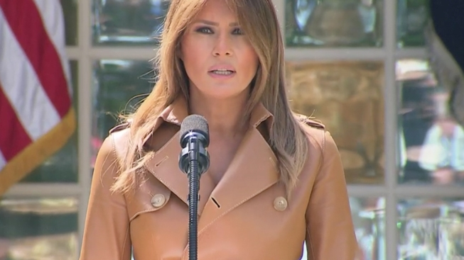 Melania Trump Launches 'BE BEST' Awareness Campaign for Kids