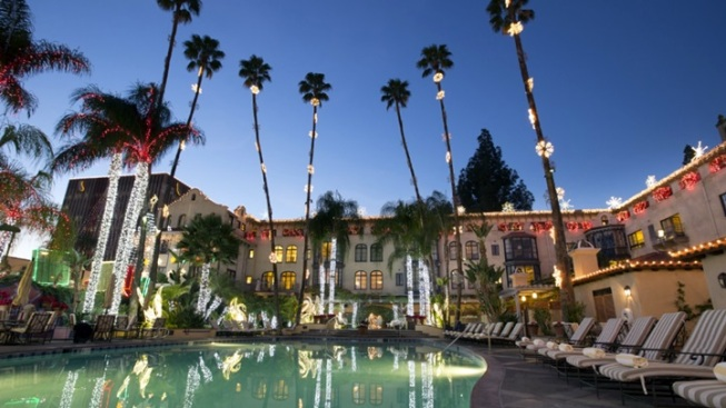 New: Mission Inn Valentine's Lights