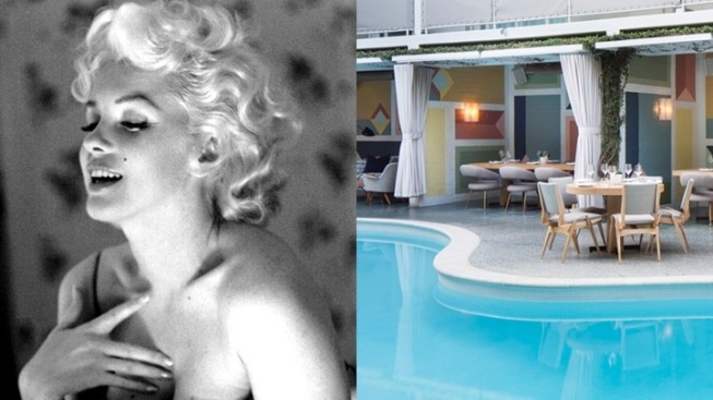 Marilyn-Sweet Poolside Fundraiser