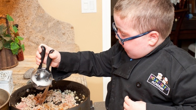 Eleven-Year-Old Chef's Inspiring Tale