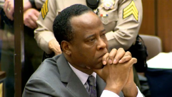 No Special Treatment for Conrad Murray