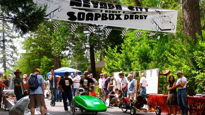 On a Roll: Nevada City Adult Soapbox Derby