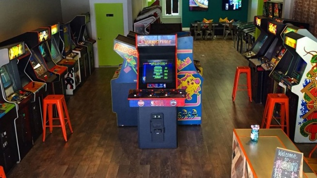 Joystick Joy: Pasadena's New Neon Retro Arcade