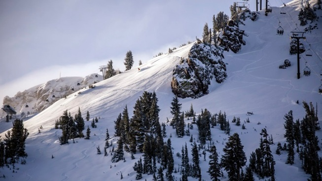 Mammoth Hits a Snowy Milestone