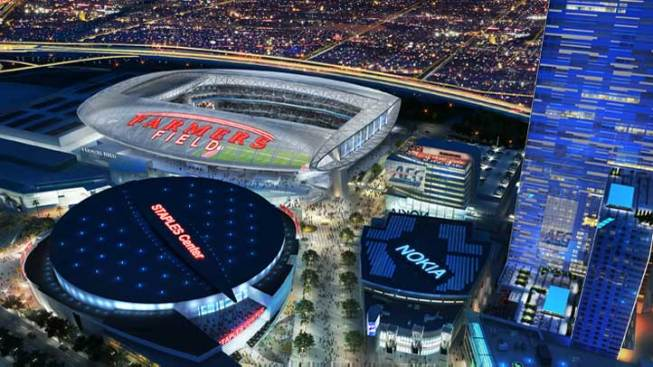 City Releases Draft Agreement With AEG on NFL Stadium