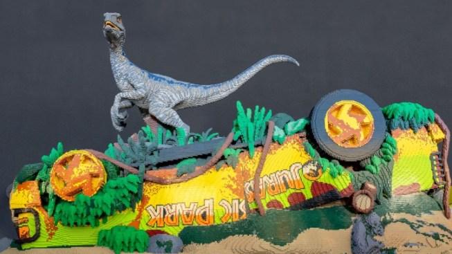 700,000 LEGO Bricks: NHM's 'Jurassic World' Display