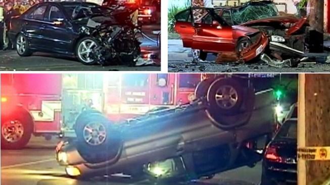One Killed in Three-Vehicle Northridge Crash