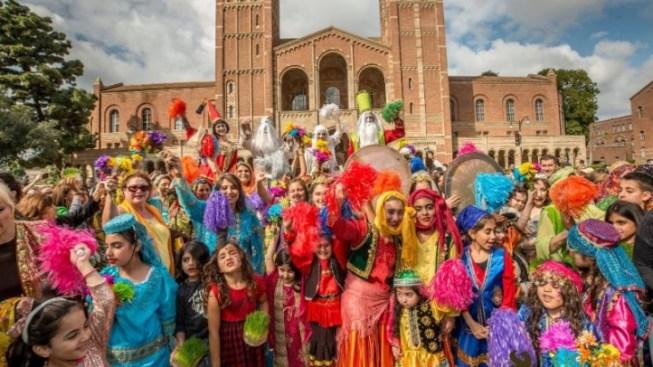 Beautiful Nowruz Celebration to Welcome Spring