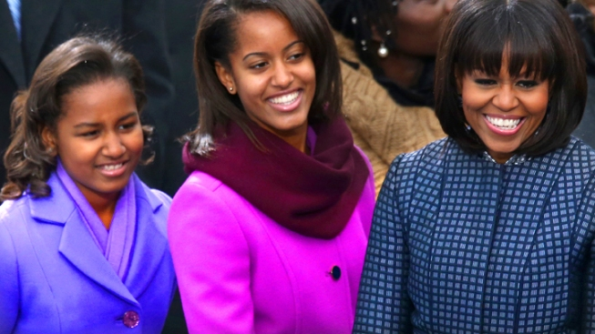 J. Crew To Retire Malia Obama's Inaugural Coat, First Lady's Belt