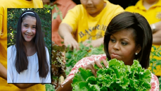 Menlo Park Girl, 12, Wins First Lady Lunch Award