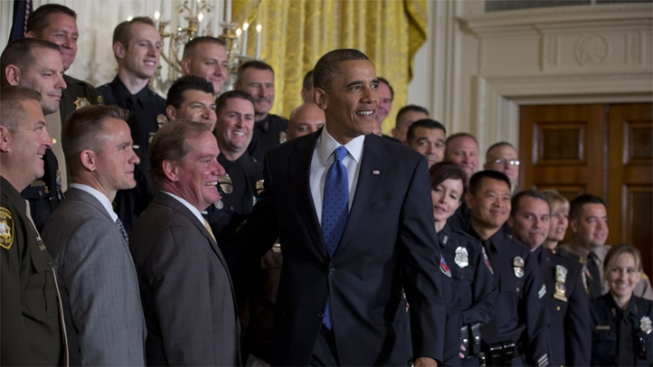 "LAPD Officers Among ""Top Cops"" Honored by Obama"