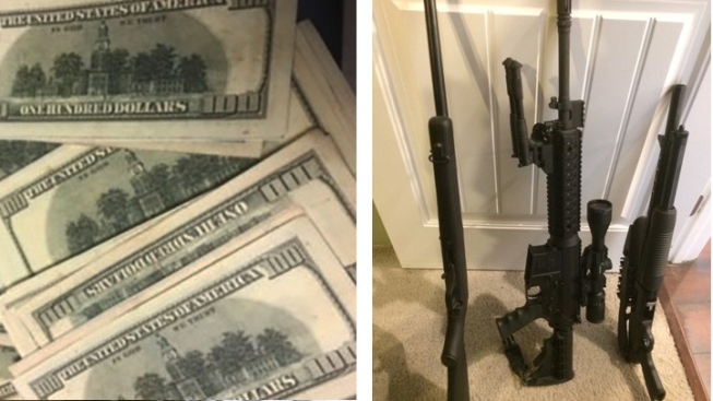 Drugs, Guns, Fake Money Seized in Mexican Mafia Gang Bust in Orange County