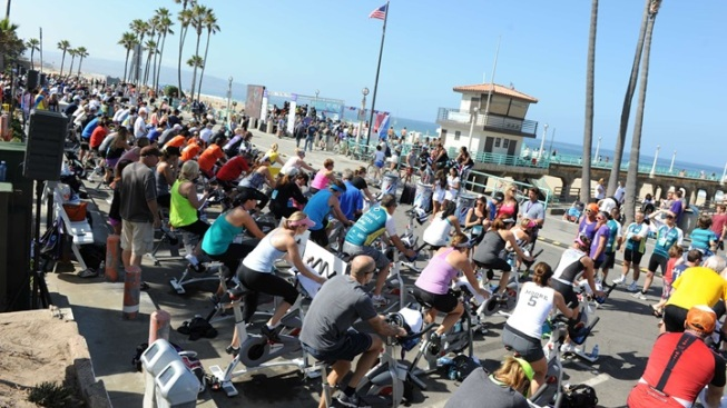 Nearly 2,000 Stationary Cyclists to Pedal by the Pacific
