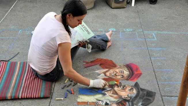 Happy 25th, Pasadena Chalk Festival