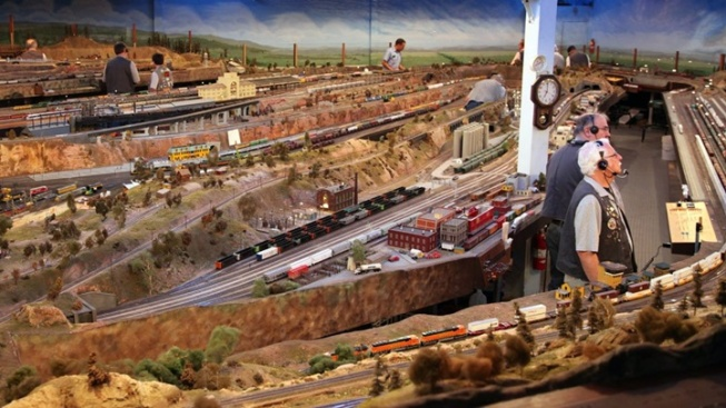 Choo-Choo Over to an Expansive Model Train Display