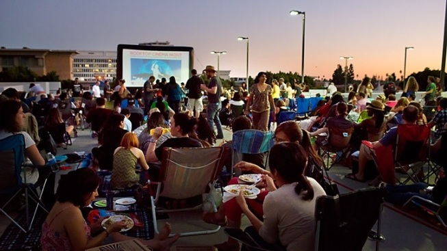 Free: Rooftop Cinema in Pasadena