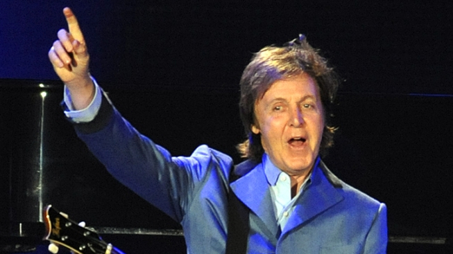 Paul McCartney Gets His Walk of Fame Star
