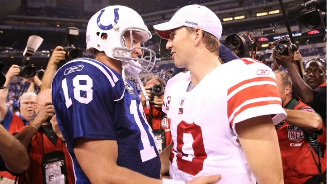 Watch Out Peyton, Eli's Coming
