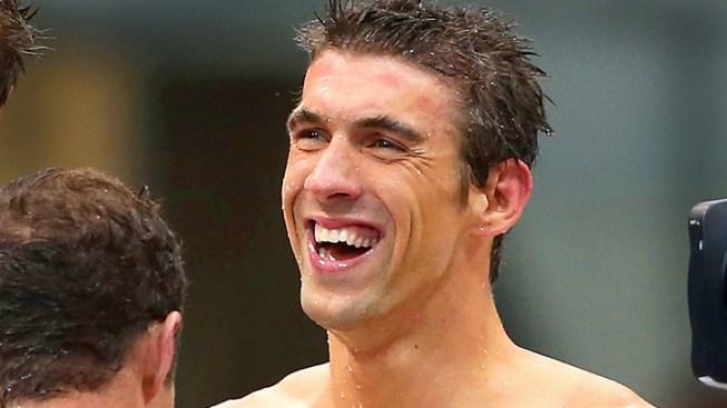 US Men Grab Gold on Phelps' Final Swim