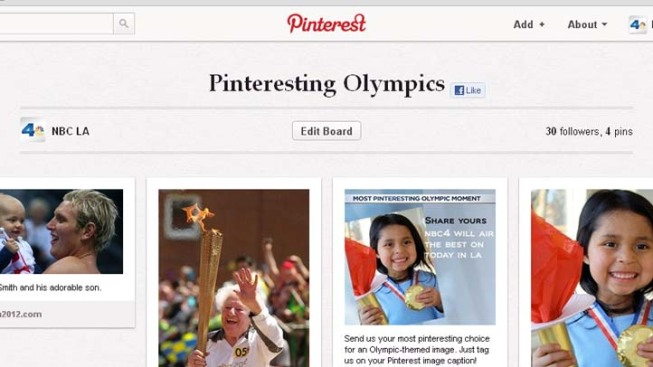 Share Your Most Pinteresting Olympic Moment