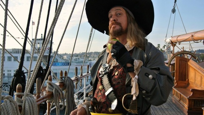 Seaport Village's 'Talk Like a Pirate Day' Day