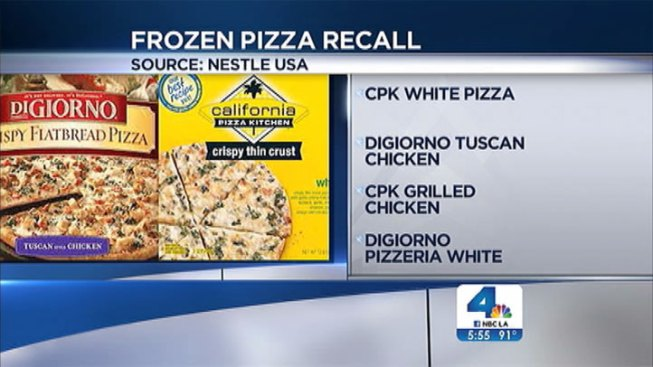 CPK, DiGiorno Frozen Pizzas Recalled After Plastic Fragments Found Inside