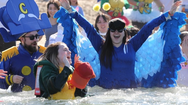 Take a Polar Plunge at South Lake Tahoe