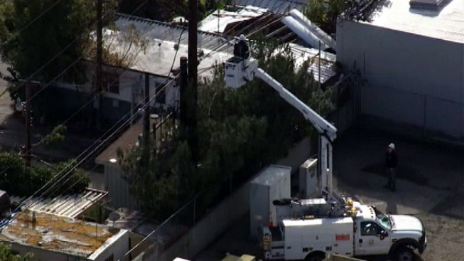 Transformer Explosion Prompts Fire, Downed Power Lines in Pomona