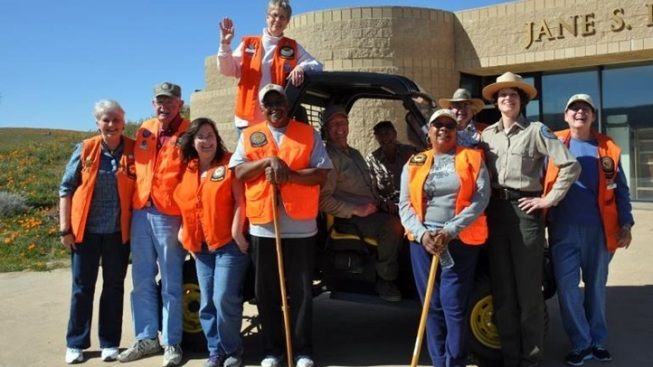 Poppy Bloom: Volunteer at Antelope Valley