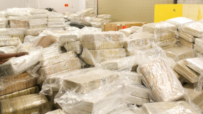 12 Tons of Marijuana Found Hidden in Big Rig in Orange County