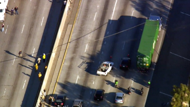 710 Freeway Re-Opened After Downed Power Lines Prompt Closure