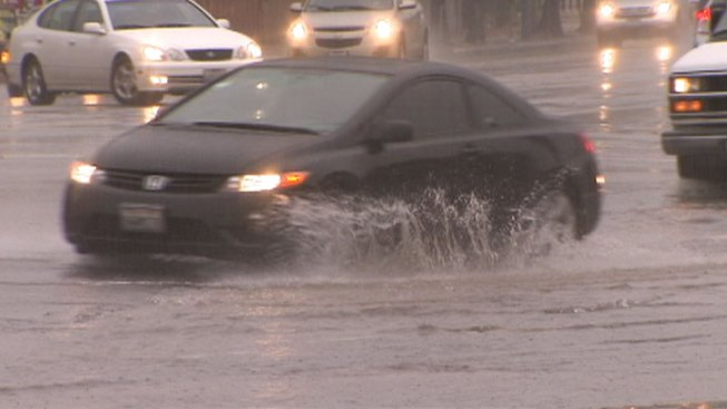 Storm Causes Big Surge in Traffic Accidents