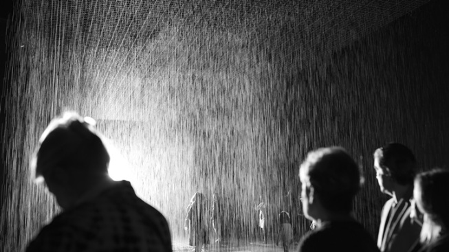 "Storm Indoors: ""Rain Room"" Pours at LACMA"