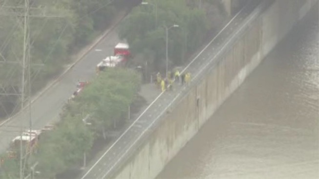 Rescue Called Off in Los Angeles River