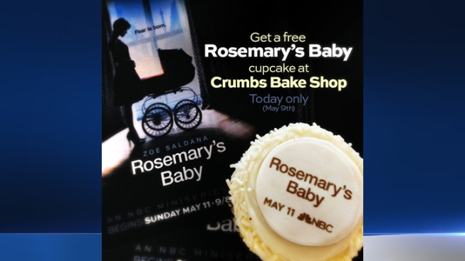 "Celebrate Launch of NBC's ""Rosemary's Baby"" with Free Cupcakes"