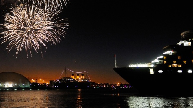 Royal Rendezvous: Two Historic Ships Say Hello